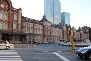 The exterior of Tokyo station had also recently been remodeled to look more stately and old-fashioned. It reminded me a lot of station in northern Europe.