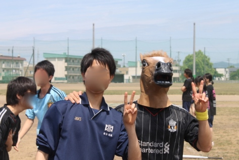 Horse masks included. (Wil Wheaton would be proud.)