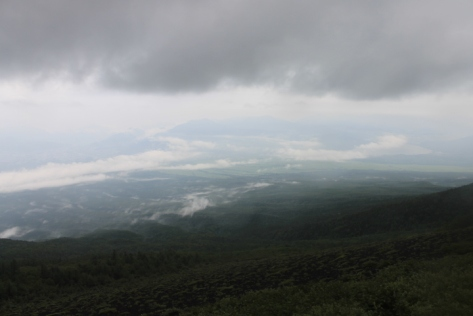 Despite the rain, the views during my descent were beautiful. I can imagine how gorgeous it would be with good weather.