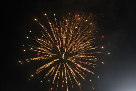 Fireworks galore.