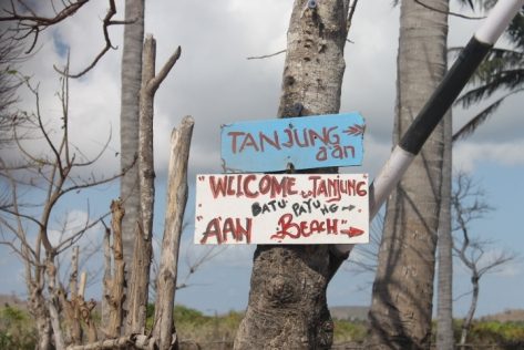 Welcome to Tanjung A'an.