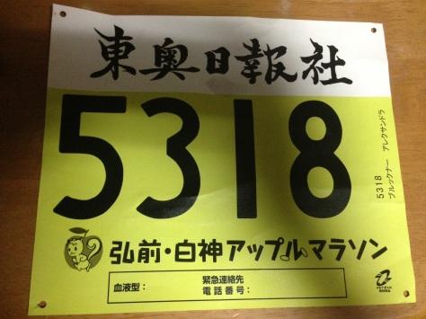 Runner #5318, reporting in.