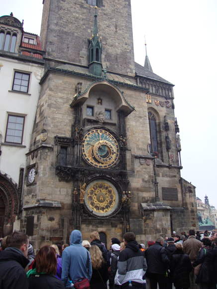 The Astronomical Clock on Old Town Hall.