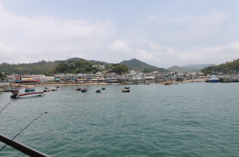 The harbor of Yung Shue Wan