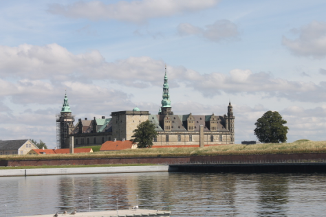 Kronborg from a distance.