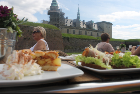 ...eaten in the shadow of Hamlet's castle. The food- and literature-loving parts of my brain were satisfied completely.