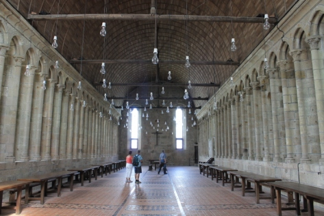 You can't possible tell me that this is NOT the Great Hall of Hogwarts. It even has the floating candles. (Well, sort of.)