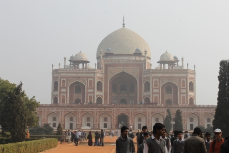 Humayun's Tomb, in all of its glory.