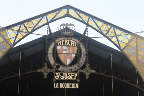 Welcome to La Boqueria.