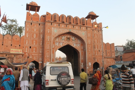 Chand Pol, the gate near our hotel