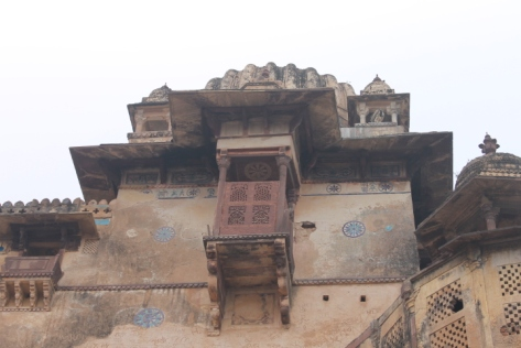 Touches of turquoise on Jehangir Mahal