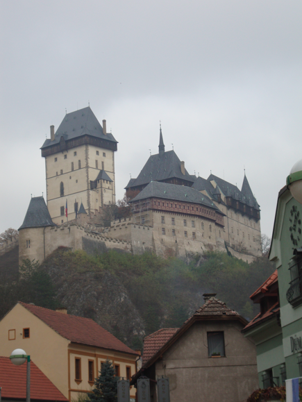 Karlštejn Castle, outside of Prague