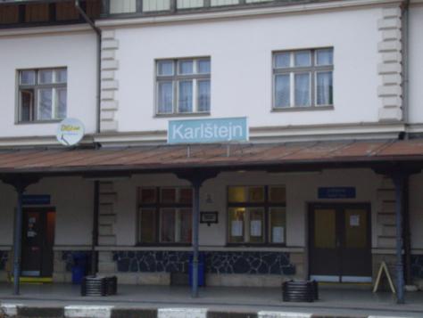 Karlštejn Station