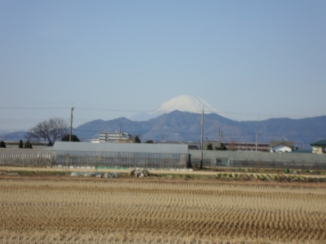 The view of Fujisan