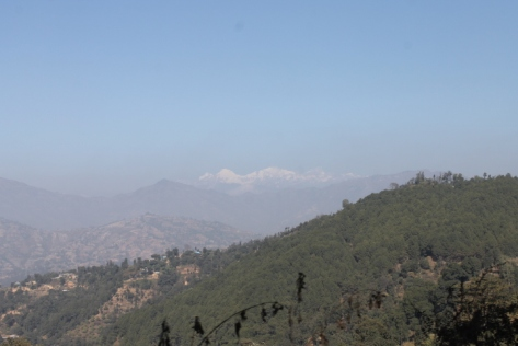 The view on the road to Kathmandu.