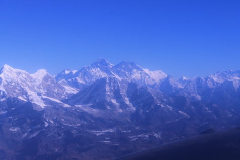 Of the ten tallest mountains in the world, nine of them are located in the Himalayas.
