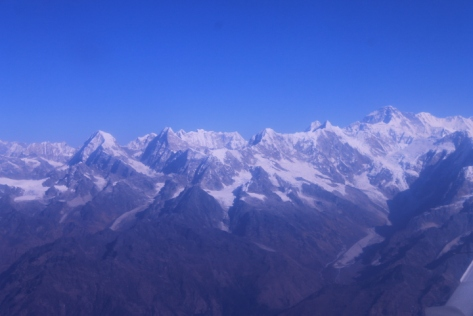 Though the other mountains in the Himalayan range aren't exactly slouchers, either.
