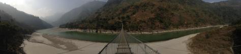 ...and here's a panorama of said bridge.