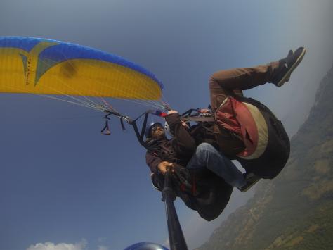 Our parachute.