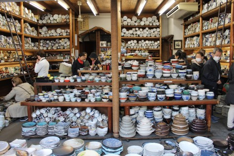 Need any bowls? Kappbashi-dori has you covered, whether you just need one...or you're feeding an army.