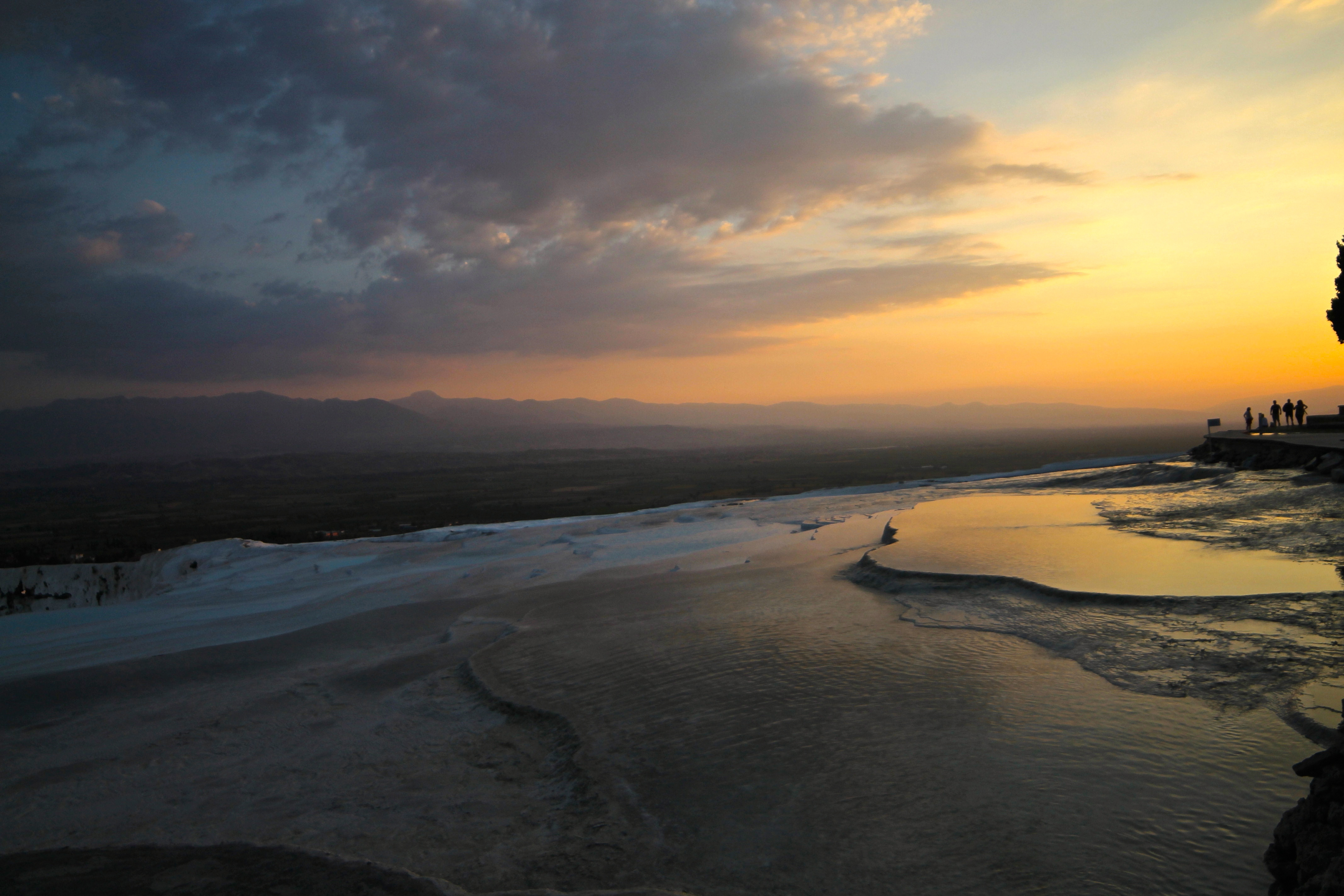 A Stunner of a Sunset at Pamukkale  The Globetrotting Geek