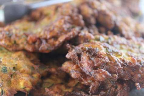 Not to mention the fact that the captain's wife was some sort of culinary wizard. She wrangled incredible meals out of the boat's tiny kitchen, including these zucchini fritters.