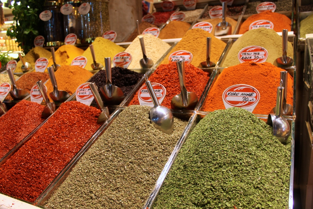 The Spice Market lives up to its name.